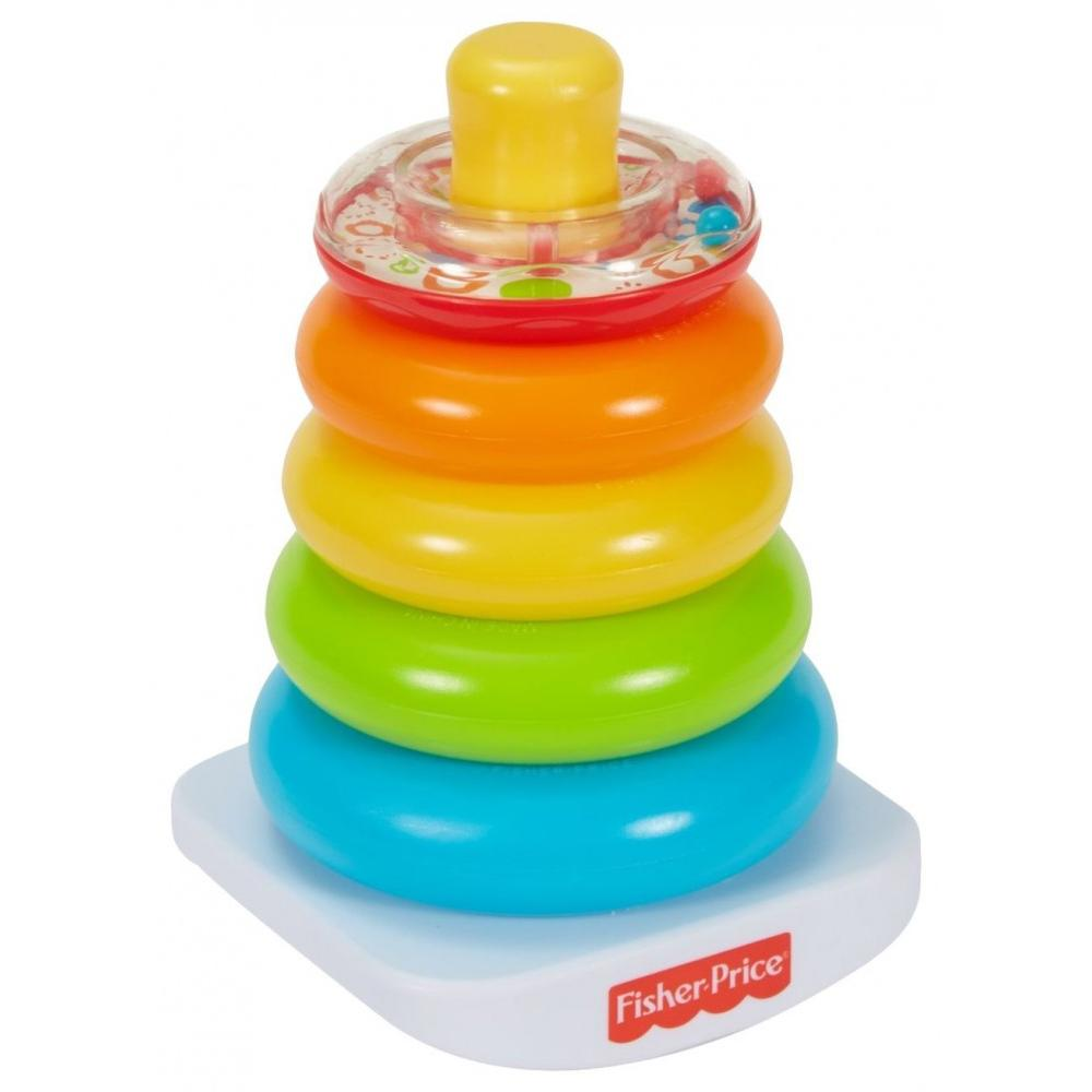 Fisher Price Brilliant Basics Rock-a-Stack by Fisher-Price