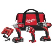 Milwaukee M18 CORDLESS LITH-ION 3-TOOL COMBO KIT