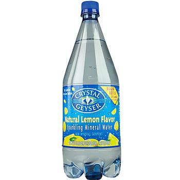 Crystal Geyser Sparkling Spring Water Original, 18 Fl Oz, 4 Ct