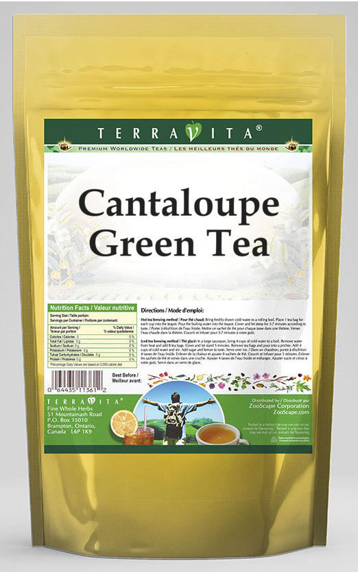 Cantaloupe Green Tea 25 Tea Bags Zin 534131 Walmart Com Walmart Com Cantaloupe is perfect for breakfast whether it's in a salad, a smoothie, or on its own. cantaloupe green tea 25 tea bags zin 534131 walmart com
