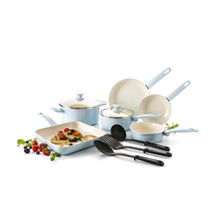 Green Lime (GreenLife Ceramic Non-Stick 12 Piece Cookware)
