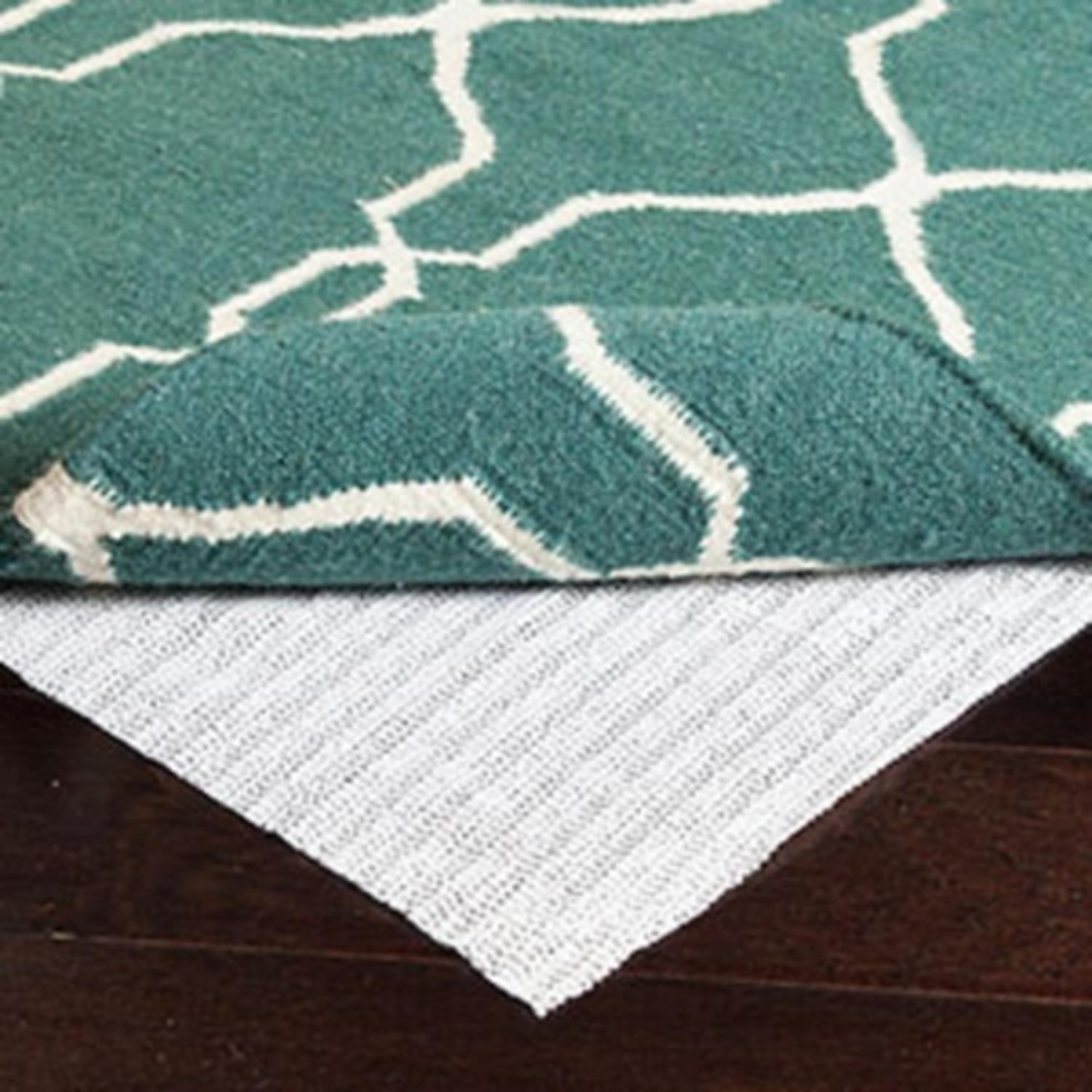 Deluxe Slip Resistant Padded Liner for a 2.5' x 10' Area Throw Rug Runner