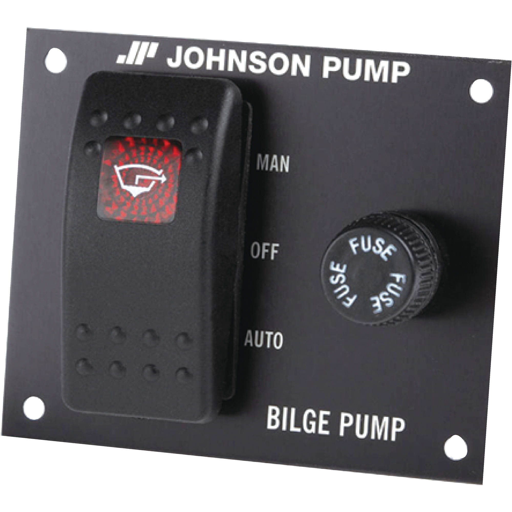 Johnson Pump 82044 3-Way Bilge Pump Control 24V