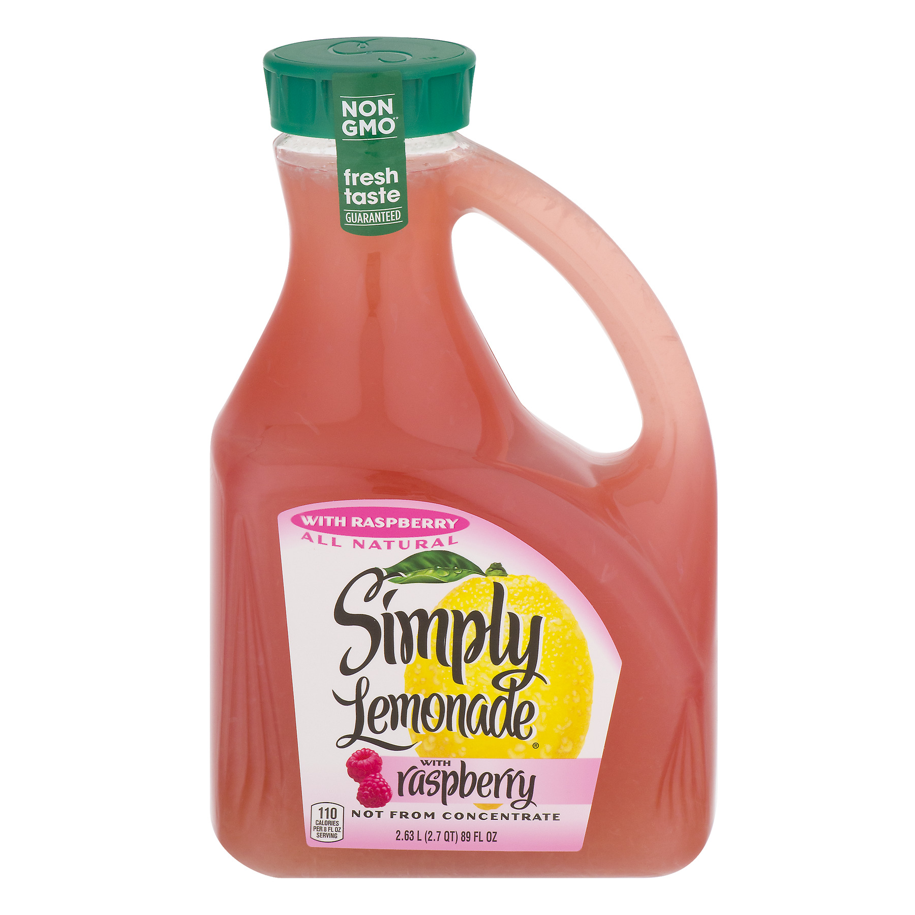 Simply Lemonade with Raspberry, 89.0 FL OZ