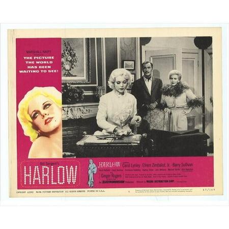 Harlow Poster Movie E Mini Promo
