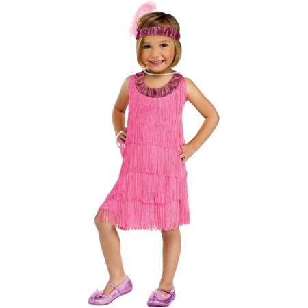 Flapper Baby Costume (Pink Flapper Toddler Costume)