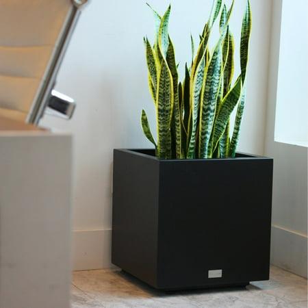 Veradek Metallic Series CUBE Planter