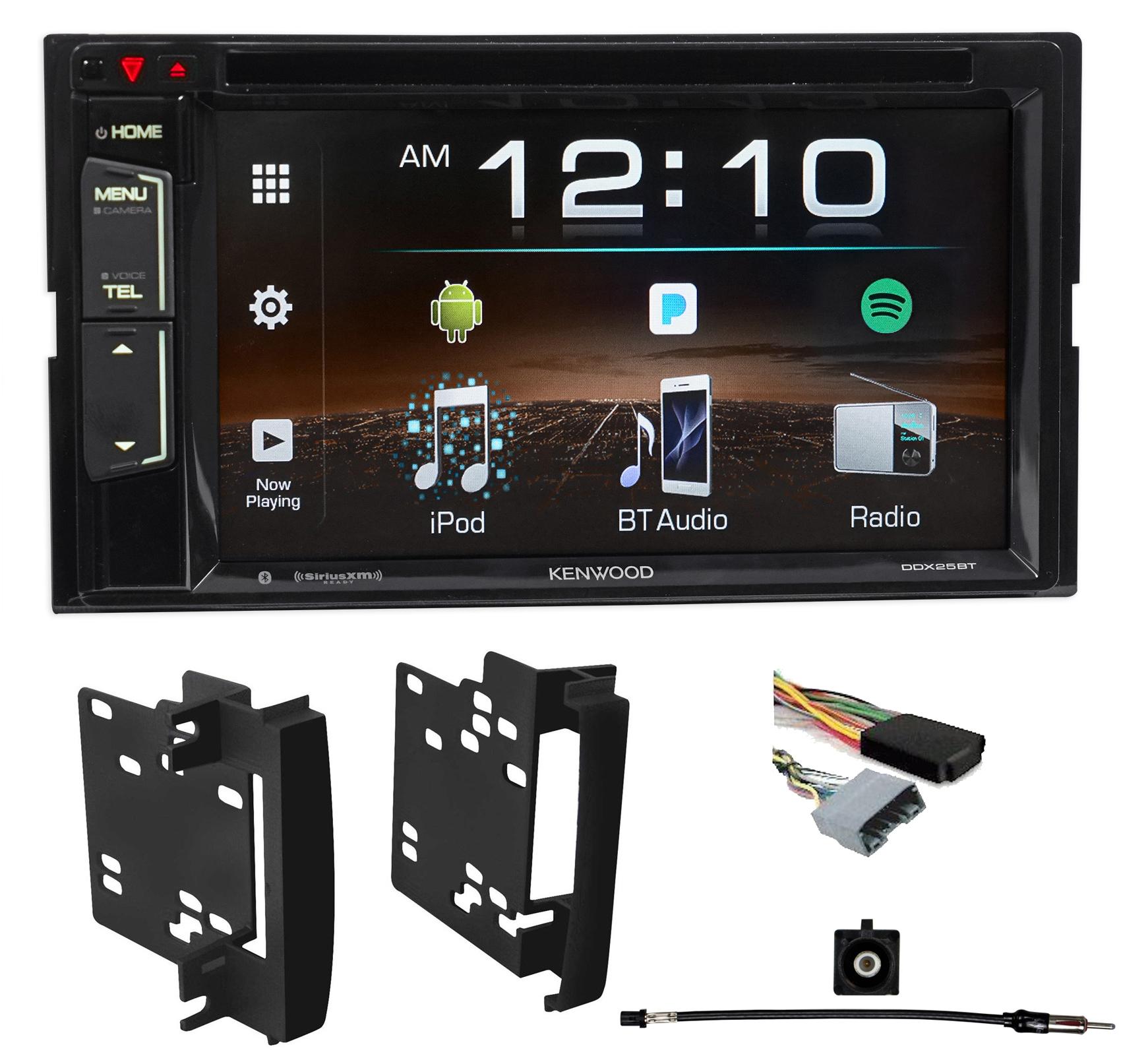 2007-2010 Chrysler Sebring Kenwood Car DVD iPhone Bluetooth USB Pandora Receiver by Kenwood