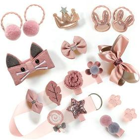 Hairpin Baby Girl Hair Clip Bow Flower Mini Barrettes Star Kids Infant 6Pcs//set