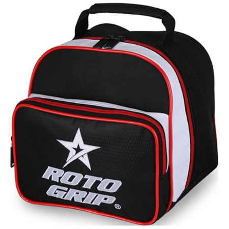 Roto Grip Caddy Bowling Bag- Black/White/Red (Grip Bag)