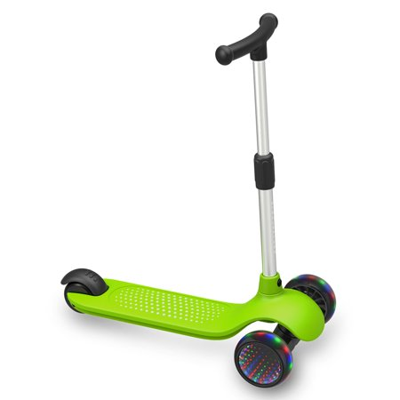 Gyrocopters- MiniMe Kids Kick Scooter with Adjustable Height and LED Wheels (Green) - image 8 of 12