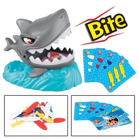 Crazy Shark Catch The Fish Biting Hand Family Interactive Table Party Game - Interactive Halloween Games For Preschoolers
