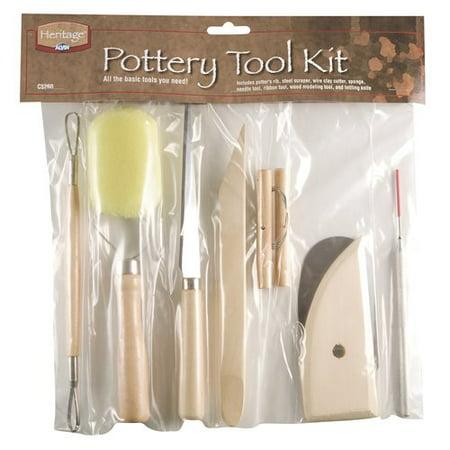 Heritage Arts Pottery Tool Kit