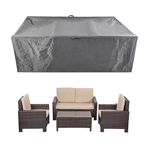 Patio Furniture Set Covers Waterproof Outdoor Table Covers Sectional Conversation Loveseat Sofa Set Covers Waterproof Durable Heavy Duty 88 L X 58 W X 28 H Walmart Com Walmart Com