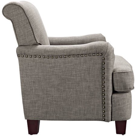 Better Homes Gardens Grayson Rolled Top Club Chair With Nailheads Multiple Colors Best