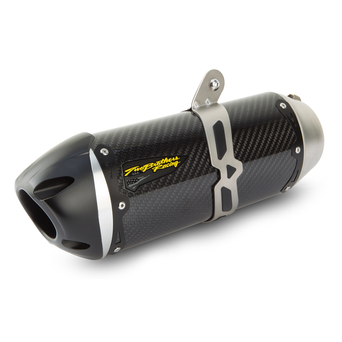 Two Brothers Racing  S1R Black Series Slip-On exhaust 005-3850407-S1B