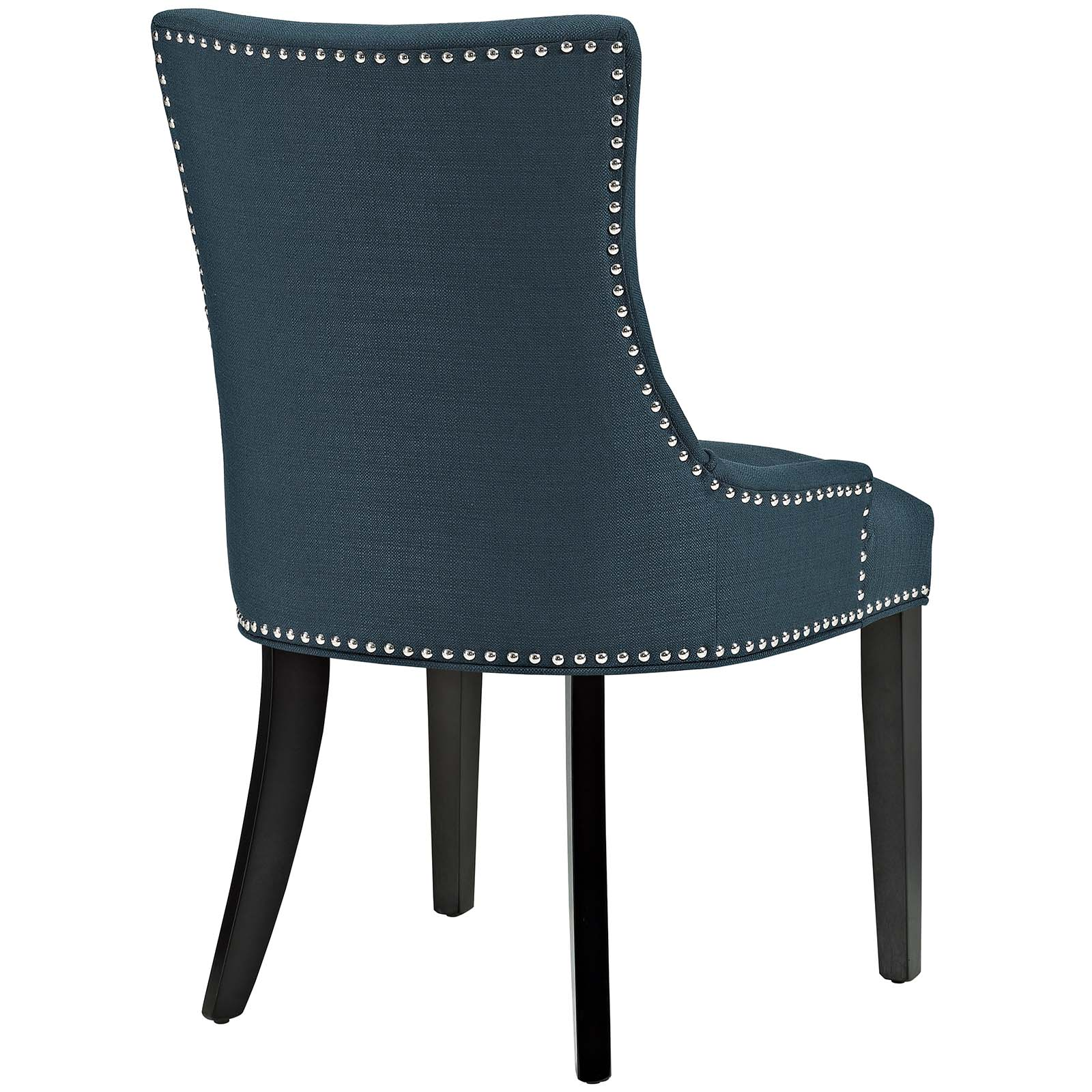 Outstanding Modern Contemporary Urban Design Kitchen Room Dining Chair Navy Blue Fabric Wood Caraccident5 Cool Chair Designs And Ideas Caraccident5Info