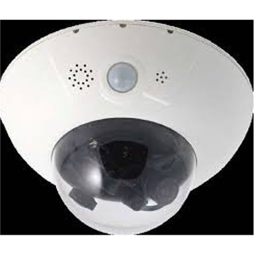 MOBOTIX DualDome D15D Sec, 2x 6MP, Panorama 180 degrees - Day MXD15DISEC1806MPF1.8