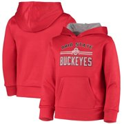Ohio State Buckeyes Girls Youth Pullover Hoodie - Scarlet