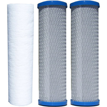 Watts® Replacement Filters for Reverse Osmosis & Water Filtration Systems 3 ct