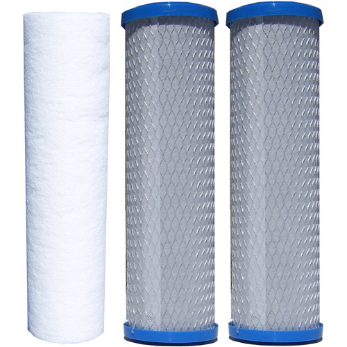 Watts Premier 5-Stage Reverse Osmosis Replacement Filters, 3pk