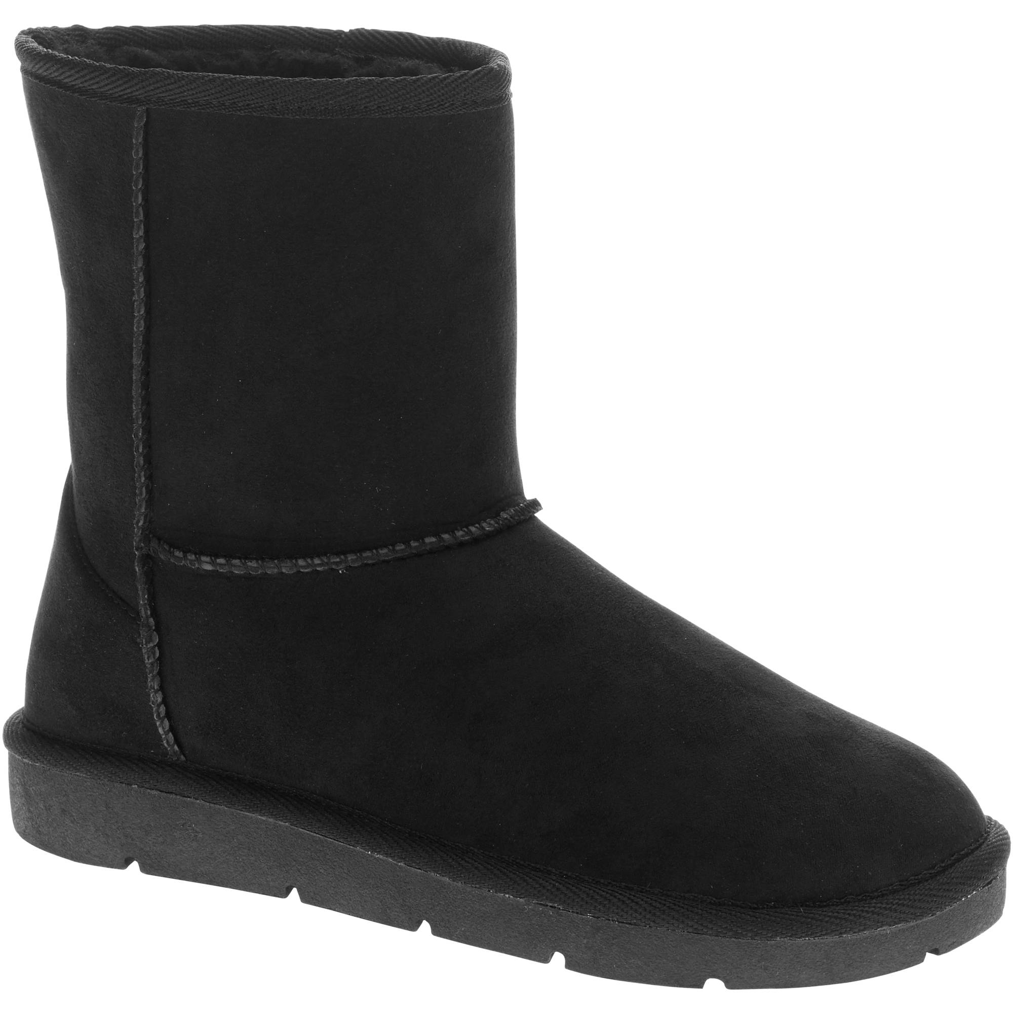 Faded Glory Women's Shearling Lug Sole Boot -Exclusive