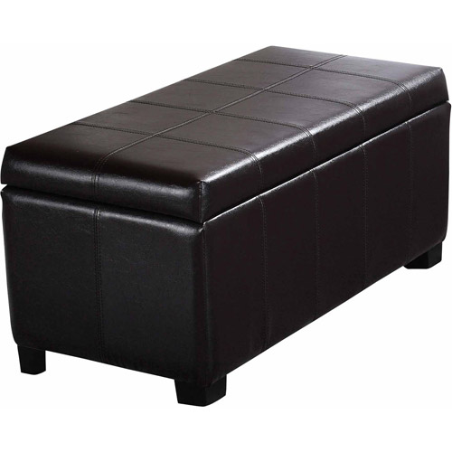 Brooklyn + Max Sea Mills Collection Rectangular Storage Ottoman