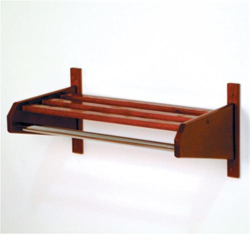 Wooden Mallet 36SCRMH 36 inch Oak Coat and Hat Rack in Mahogany