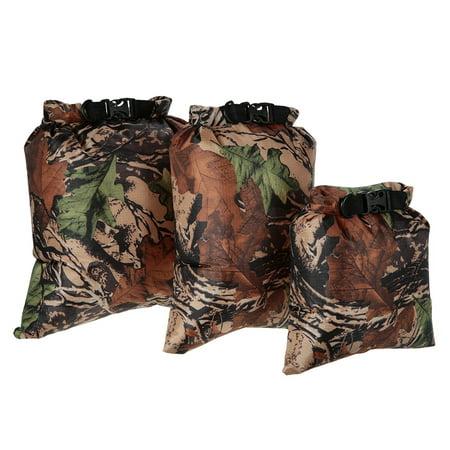 Lixada Pack of 3 Waterproof Bag 3L+5L+8L Outdoor Ultralight Dry Sacks for Camping Hiking