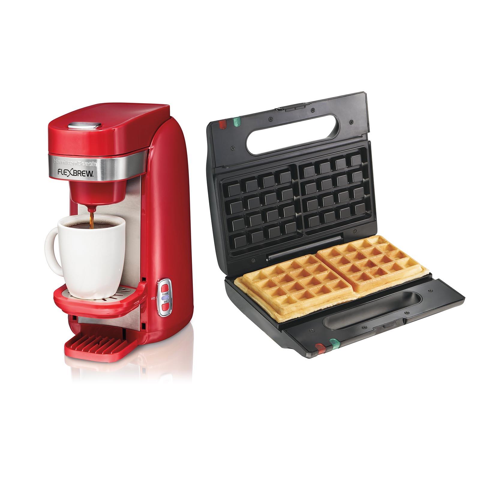 Hamilton Beach Single Serve Coffee Maker w/ Proctor Silex...