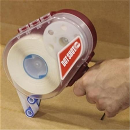 Glue Dots GD107R 0.5 in. Clear Dot Shot - Super High Tack Glue Dots - Medium Profile - 600 per