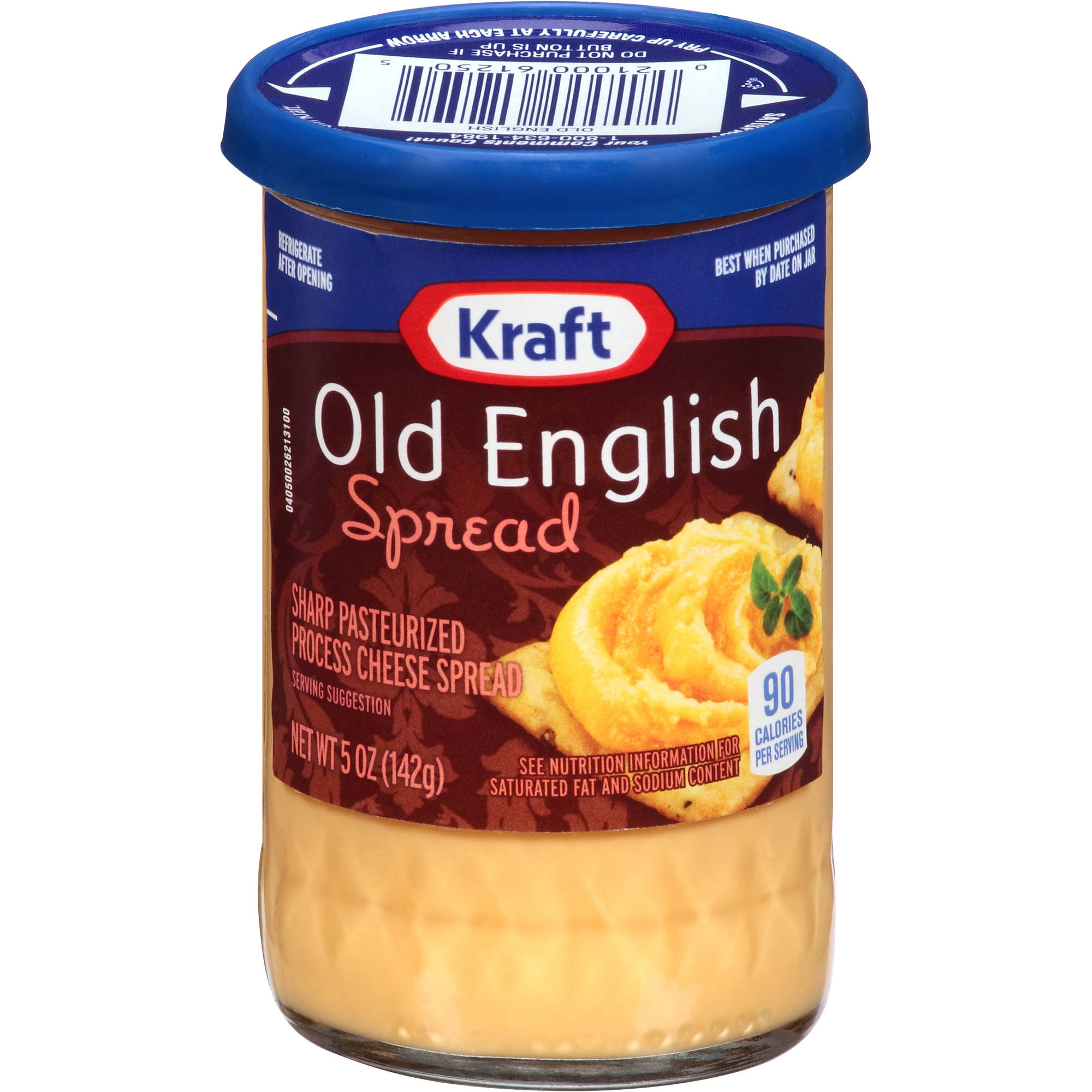 Kraft Cheese Spreads: Sharp Old English Cheese Spread, 5 oz