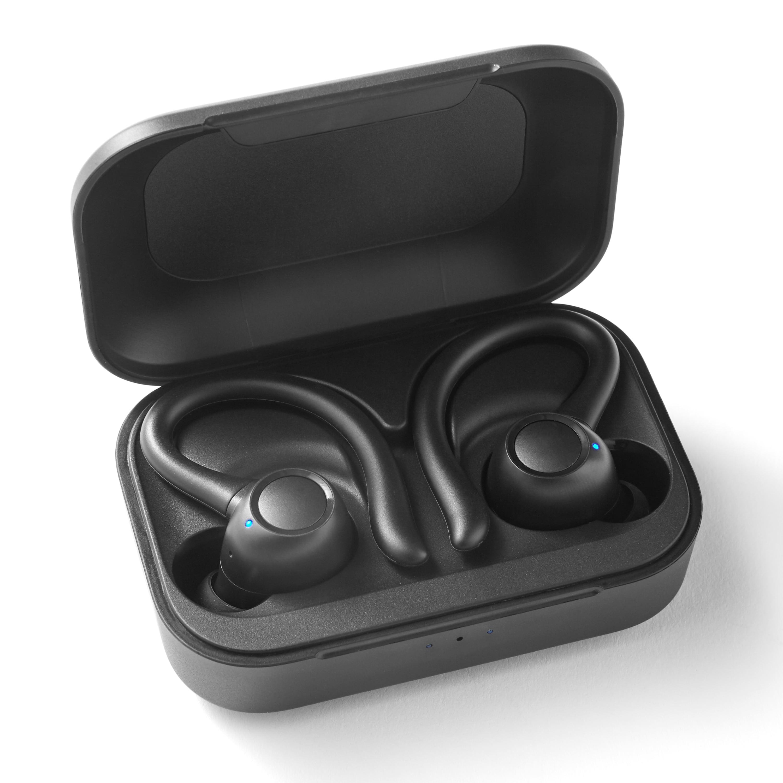 Blackweb True Wireless Bluetooth Earbuds Black Walmart Com Walmart Com
