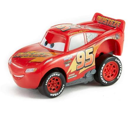 Disney/Pixar Cars 3 Rev 'n Race Lightning McQueen Character Vehicle - Cars Mcqueen