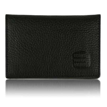 30a96fee5bc SUVELLE - Suvelle Mens Thin RFID Blocking Slim Leather Card Holder ...