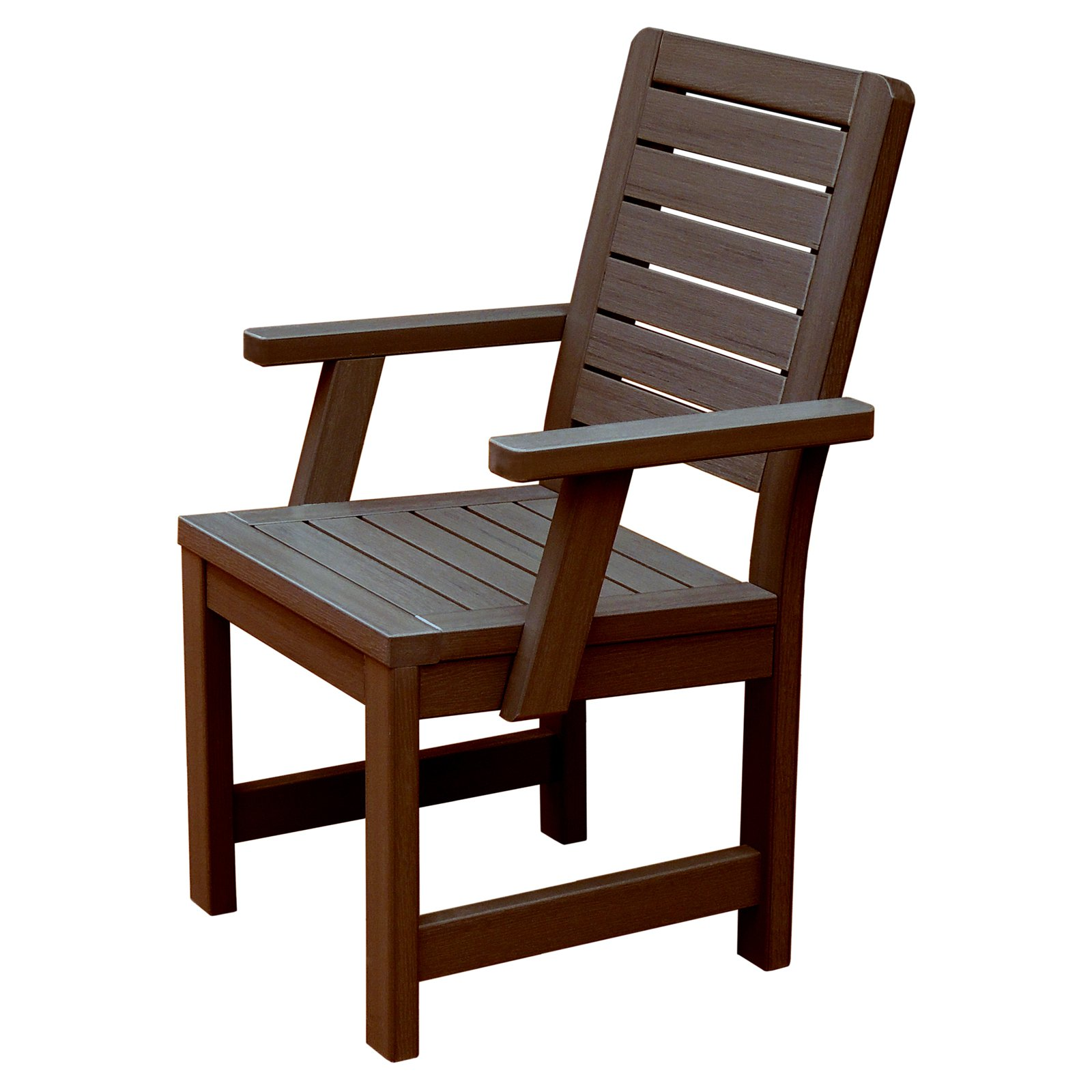 highwood® Weatherly Recycled Plastic Patio Dining Chair