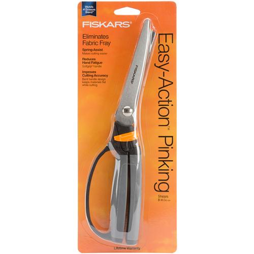 Fiskars Softouch Spring Action 10-inch Pinking Shears