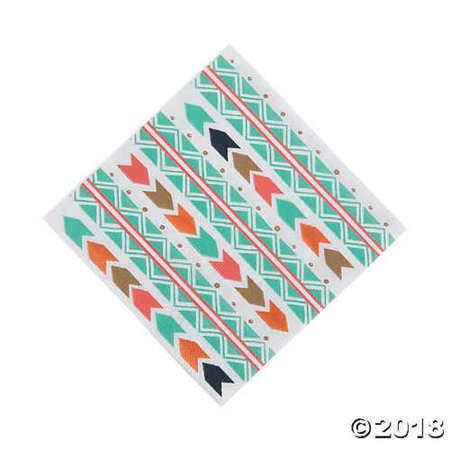 Tribal Baby Shower Luncheon Napkins Baby Shower Paper Luncheon Napkins