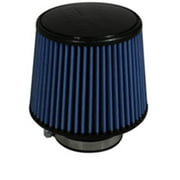 Injen AMSOIL Ea Nanofiber Dry Air Filter - 3.00 Filter 6 Base / 5 Tall / 5 Top