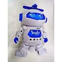 Machine Robot Toy Baby Learning Machine Teach Toy Hobby Multi-Functional Cultivate Interest Cool blue