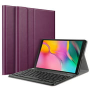 For Samsung Galaxy Tab A 10.1 SM-T510 2019 Tablet Keyboard Case - Smart Slim Cover Removable Bluetooth Keyboard