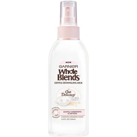 Garnier Whole Blends Gentle Detangling Hair Milk Oat Delicacy 5 FL (Top Facial Hair Styles)