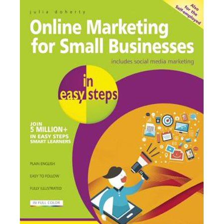Online Marketing for Small Businesses in Easy Steps : Includes Social Network (Best Network Design For Small Business)