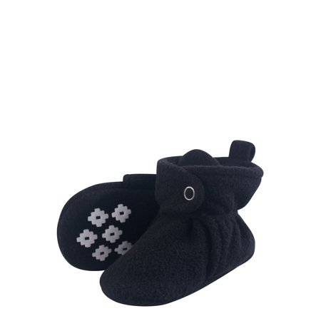 9241b48f4c1 Cozy Fleece Booties with Non Skid Bottom (Baby Boys or Baby Girls Unisex)