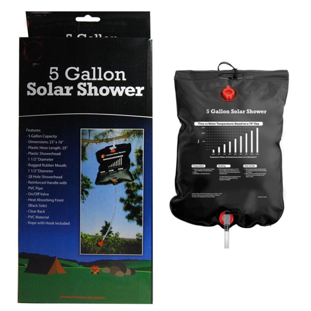 Click here to buy 20L Outdoor Camping Hiking Solar Energy Heated Camp Shower Pipe Bag Portable New by SONA ENTERPRISES.