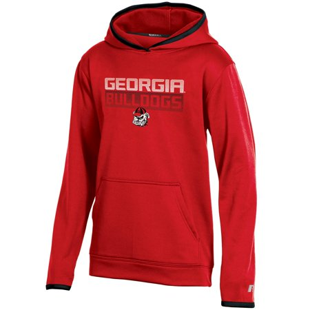 Youth Russell Red Georgia Bulldogs Pullover Hoodie - Georgia Bulldogs Hoodie Sweatshirt