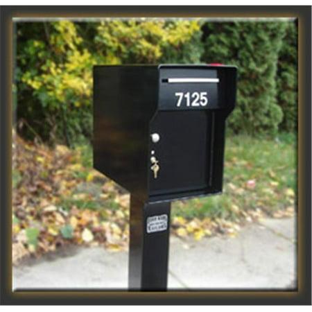 Fort Knox Mailbox Vacationer B Vacationer - Black
