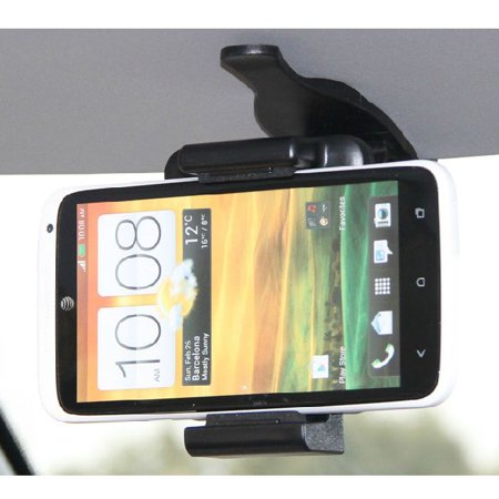 Outtop Car Sun Visor Phone Holder For Samsung GalaxyS4 S5 NOTE 3 iphone 5S