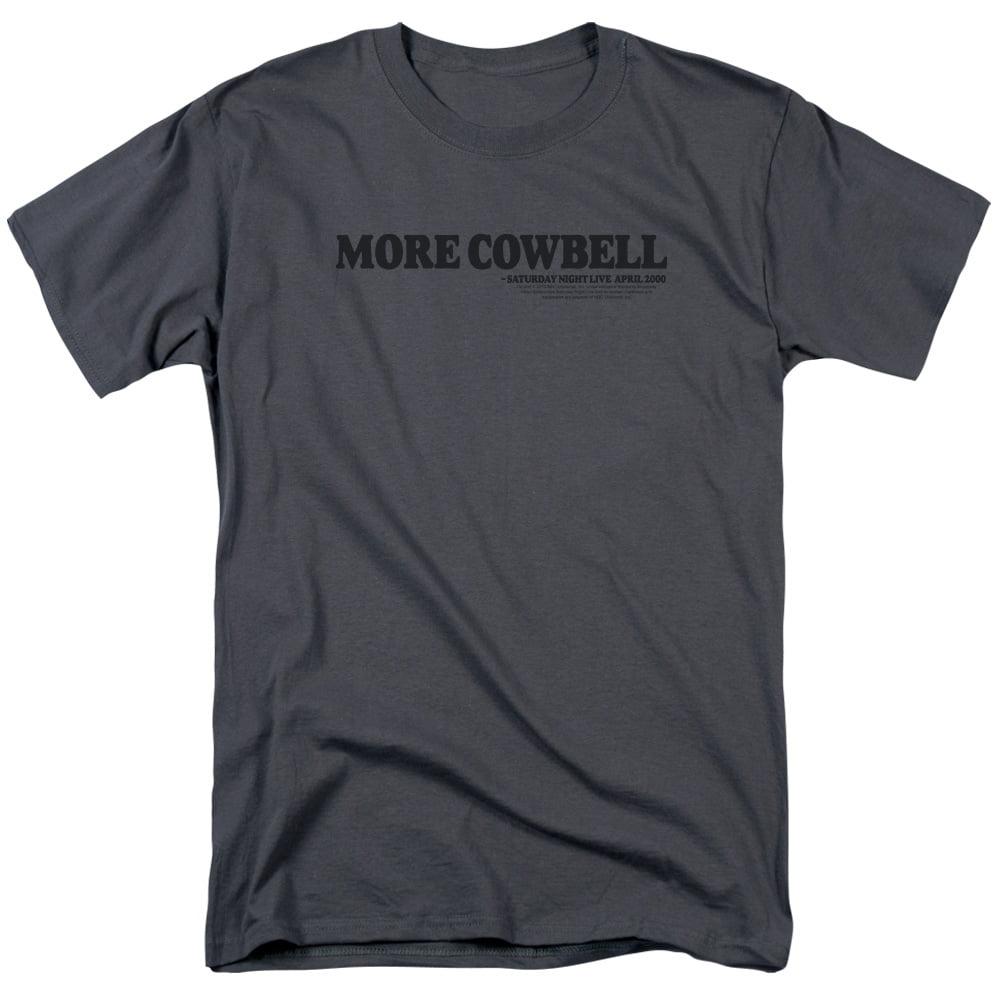 Saturday Night Live SNL Cowbell Mens Short Sleeve Shirt