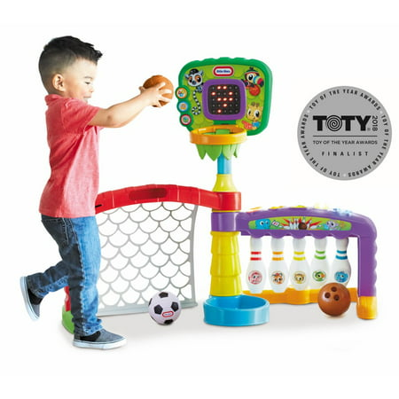 1 Learning Activity Cube (Little Tikes 3-in-1 Sports Zone)